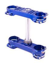 X-TRIG ROCS Triple Clamp Blue Sherco