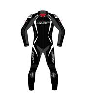 RST Tractech Evo 4 Suit Leather Black/White Women