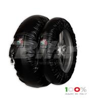 Aquecedores de pneus CAPIT Suprema Spina Cor carbono (17'' - Frente 120/Trás 180)