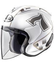 Casque ARAI SZ-RAM X Café Racer White