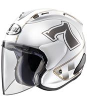 ARAI SZ-RAM X Helmet Café Racer White