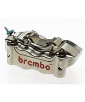 Bremszangen Paar(usinés CNC), 100mm/P4 30/34 (mit Belägen)