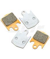 Jogo de pastilhas sinterizadas con tratamento cerâmico para bicicleta CL Brakes (4011VRX)