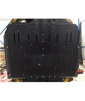 Proteção integral AXP, polietileno PEAD, 10 mm, preta, Yamaha YXZ1000R