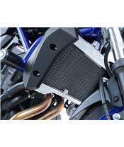 R&G RACING Radiator Guard Titanium Yamaha MT-07