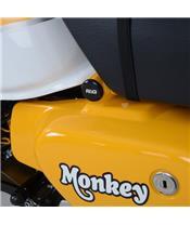 R&G RACING Frame Insert Black Honda Monkey
