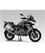 YOSHIMURA Schalldämpfer Hepta Force Edelstahl Metal Magic / Kappe Carbon BMW R1200GS Adventure