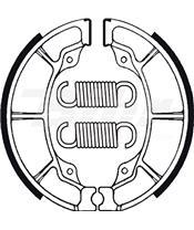 Zapatas de freno Tecnium BA019