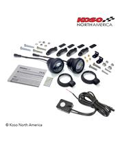 KOSO LED Anti-Fog Light Kit Aurora