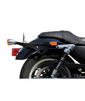 Kit de fixation sacoches cavalières KLICBAG noir Harley Davidson