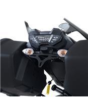 R&G RACING Licence Plate Holder Black Yamaha MT-09 Tracer