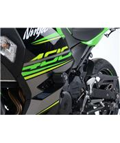 R&G RACING Aero Crash Pad White Kawasaki Ninja 400/Z400