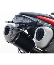R&G RACING kentekenhouder, zwart Triumph Speed Triple S
