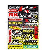 Kit Adhesivos Blackbird sponsor 5076A