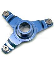 Suporte protetor disco dianteiro ART Yamaha azul