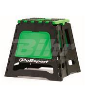Caballete plegable de plástico Polisport verde 8981500005