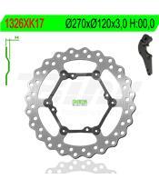 Disco de travão NG kit ondulado1326XK17 Ø270 x Ø120 x 3,5