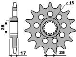 PBR Ritzel 14 Zähne Kette 520 Ducati 1199 Panigale
