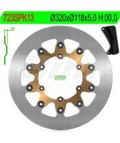 Disco de travão NG 723SPK13 Ø320 x Ø118 x 5