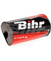 Morcilla protectora de manillar sin barra Bihr negro/rojo