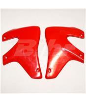 Tampas laterais de radiador UFO Honda vermelha HO03676-069