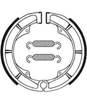 Mâchoires de frein TECNIUM BA111 organique