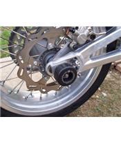 Schwingen- und Hinterradachsschutz R&G RACING für SXV450 550 '06, SL750 SHIVER, 750 DORSODURO