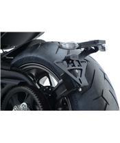 R&G RACING kentekenhouder, zwart DucatiX Diavel