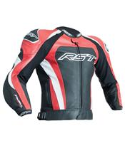 Veste RST Tractech Evo 3 CE cuir rouge taille