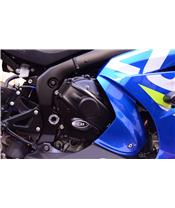R&G RACING (Clutch) Right Cranckase Cover Black Suzuki GSX-R1000