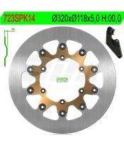 Disco de travão NG 723SPK14 Ø320 x Ø118 x 5