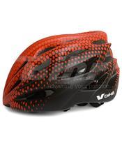 Casco V Bike MTB/Road 25 ventilaciones rojo/negrotalla L (58-61cm)