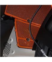 R&G RACING Headpipe Grille Orange KTM 790 Adventure