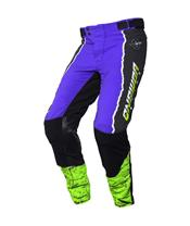 Pantalon ANSWER Trinity Pro Glow Purple/Hyper Acid/Black taille 28