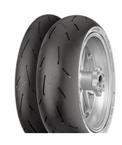 CONTINENTAL Tyre ContiRaceAttack 2 Soft 190/55 ZR 17 M/C 75W TL