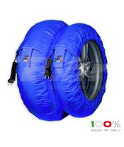 Aquecedores de pneus CAPIT Suprema Spina Cor azul (17'' - Frente 120/Trás 180)