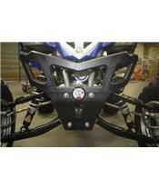 Para-choques AXP, polietileno PEAD, preta, Yamaha YFM700 Raptor