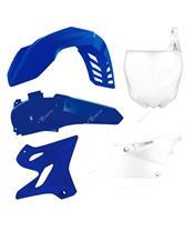 RACETECH Plastic Kit OEM Color Blue/White Yamaha YZ125/250