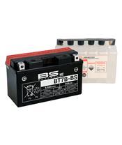 Batterie BS BATTERY BT7B-BS sans entretien livrée avec pack acide