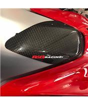 Sliders de réservoir R&G RACING carbone Ducati