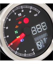Compteur de vitesse KOSO TNT-04 chrome