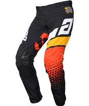 ANSWER Elite Korza Pants Black/White/Bus/Orange Size 38