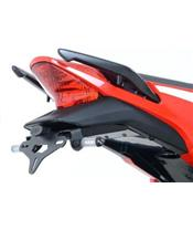 Support de plaque noir R&G RACING Honda CBR300R