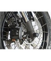 R&G RACING Fork Protectors Black Honda