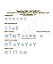 Complete set of Bolt plastic screws for Kawasaki KX-F250 /450
