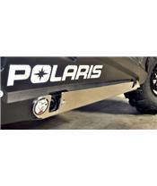 Proteção integral AXP, polietileno PEAD, 10 mm, preta, Polaris RZR900/S