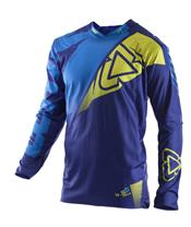 LEATT GPX 4.5 Blue/Lime Jersey Size L